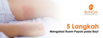 5 Langkah Mengatasi Ruam Popok pada Bayi